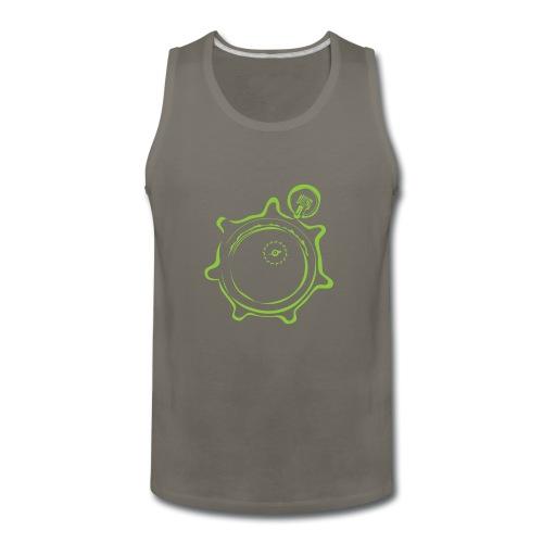 Athlete Engineers Stopwatch - Green - Men's Premium Tank