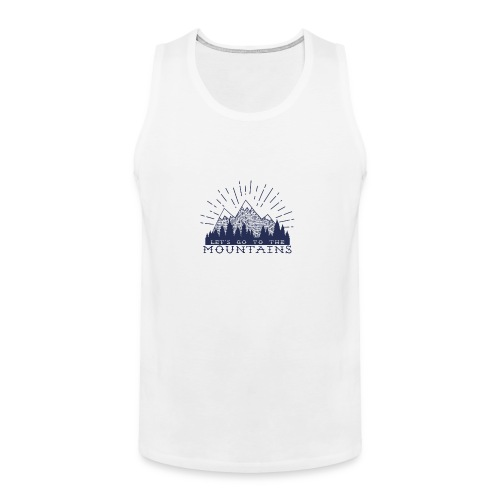 Adventure Mountains T-shirts and Products - Men's Premium Tank