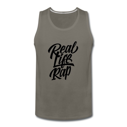 Real Life Rap 1 - Men's Premium Tank