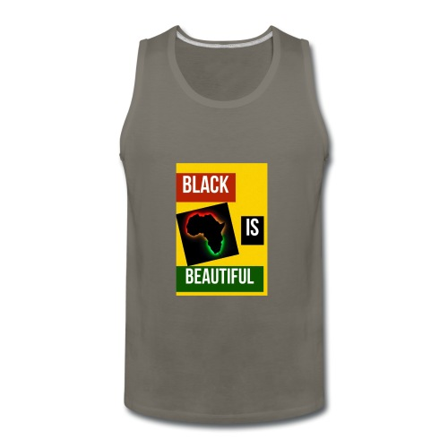 Black Is Beautiful - Men's Premium Tank