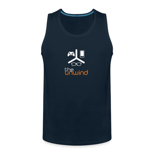 The Unwind (Orange) - Men's Premium Tank
