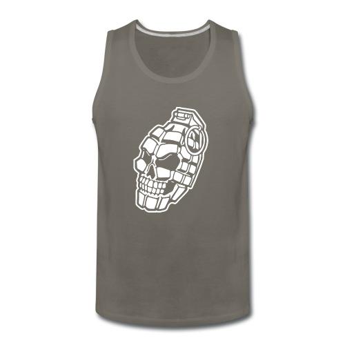 Skull Grenade - Men's Premium Tank