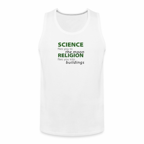 Science, Fly me to the Moon - Men's Premium Tank