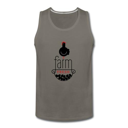 farm fresh eggs tee shirt - Men's Premium Tank