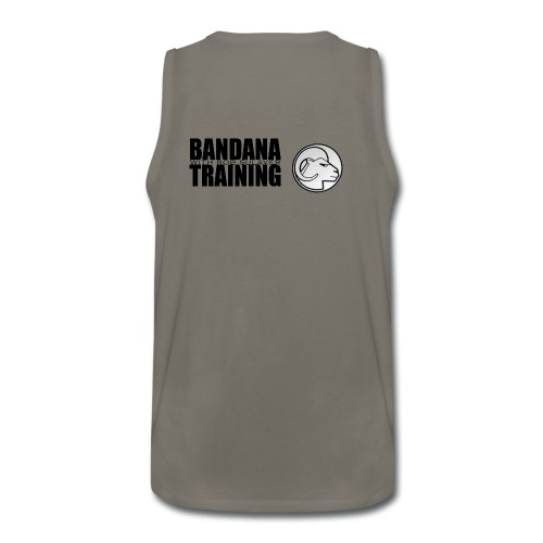 bandana black png - Men's Premium Tank
