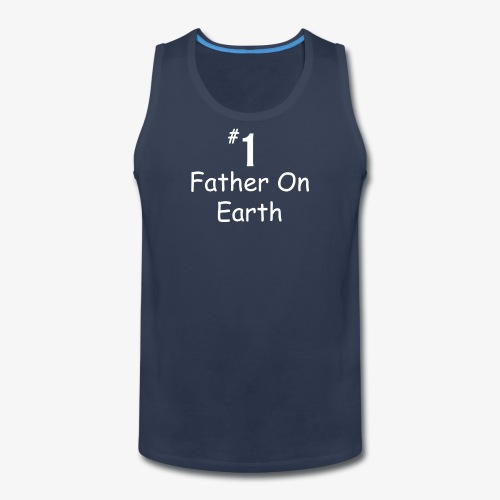 Father On Earth - Men's Premium Tank