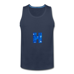 XxHaunter Logo - Men's Premium Tank