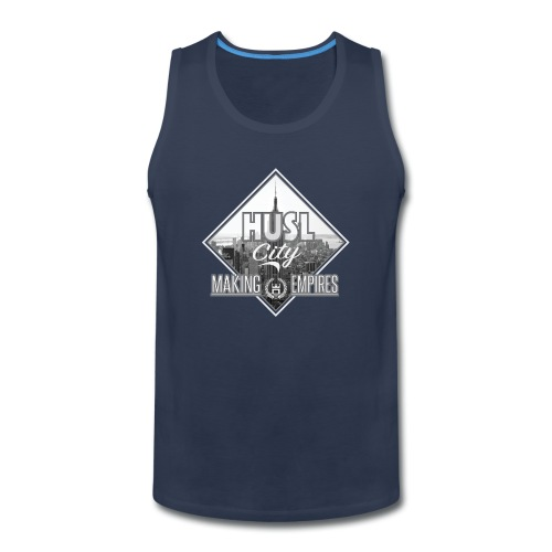 HUSL City Design - Men's Premium Tank