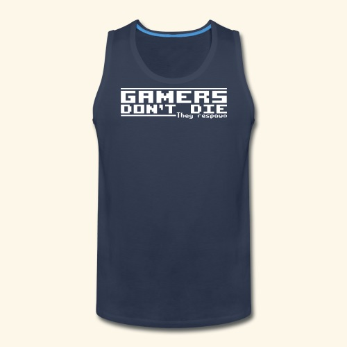 Gamers Respawn - Men's Premium Tank