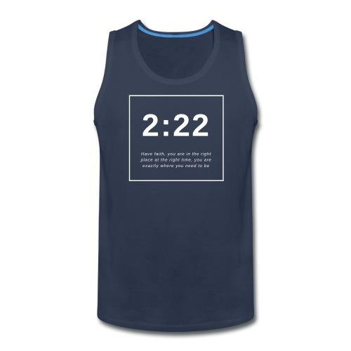 Angel Number 2:22 - Men's Premium Tank
