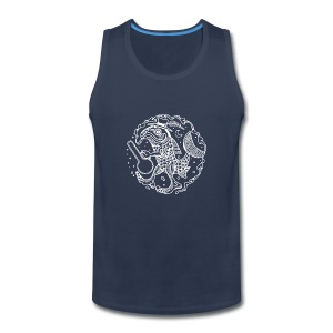fishy white - Men's Premium Tank