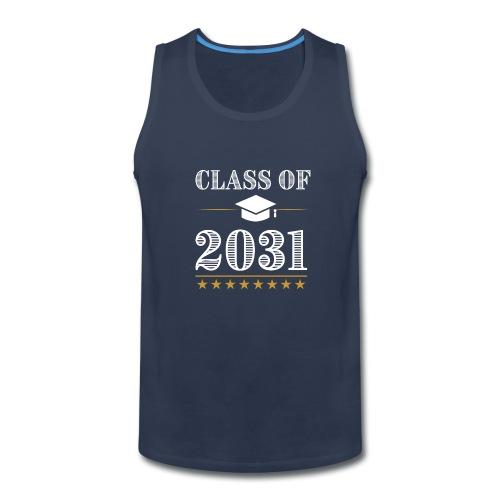 Class of 2031 T-Shirt Grow With Me - Men's Premium Tank