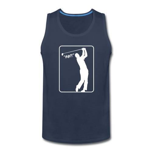 Golf Shot #@?! - Men's Premium Tank