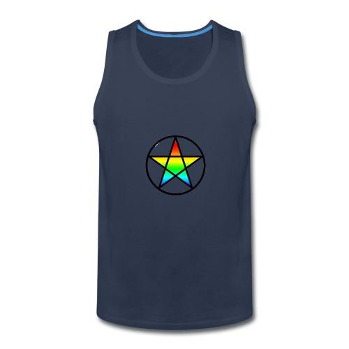 Official Iridescent Tee-Shirt // Men's // White - Men's Premium Tank