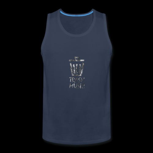 Grey Trash Logo - Men's Premium Tank