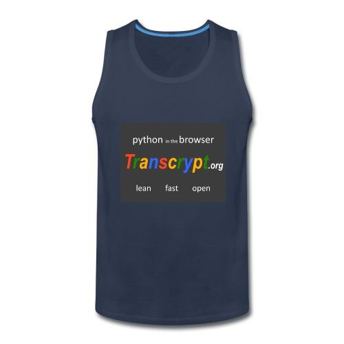 Transcrypt Logo - Men's Premium Tank