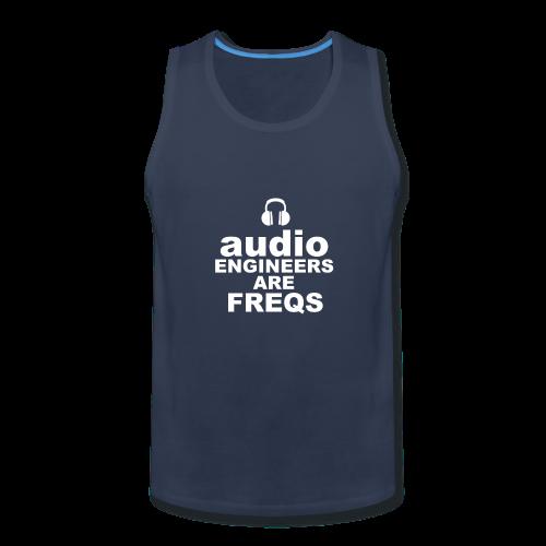 Audio Freqs - Men's Premium Tank