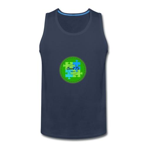 Coool T'z Green - Men's Premium Tank
