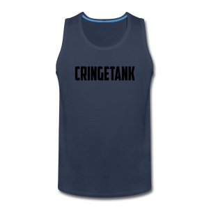 CringeTank Logo - Men's Premium Tank