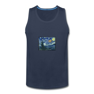 Starry Night Drone - Men's Premium Tank