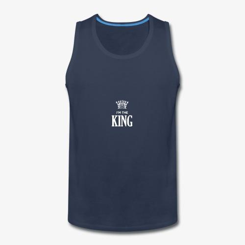 IM THE KING - Men's Premium Tank
