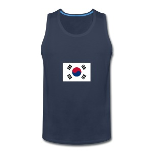Flag of South Korea - Men's Premium Tank