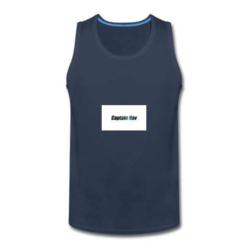 Captain Nav Logo - Men's Premium Tank
