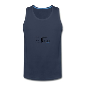 back of tee shirt - Men's Premium Tank