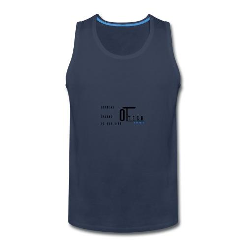 back of tee shirt - Men's Premium Tank
