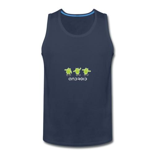 android logo T shirt - Men's Premium Tank