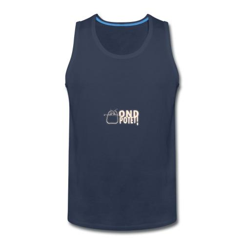 logo potet liggende - Men's Premium Tank