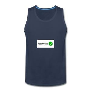 accpetnace_logo - Men's Premium Tank