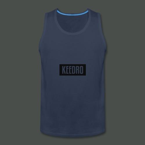 Keedro logo spreadshirt - Men's Premium Tank