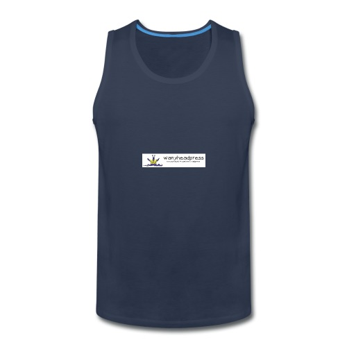 Wanyheadpress Logo - Men's Premium Tank