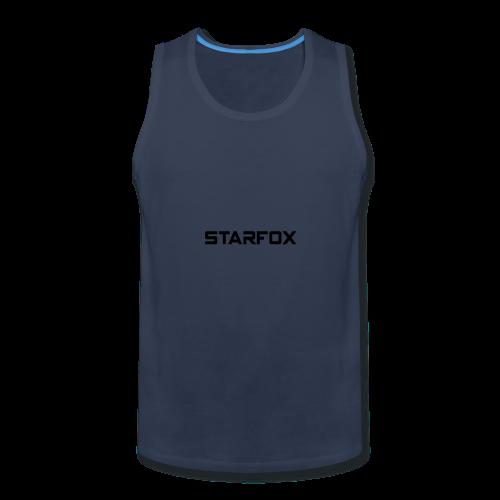 STARFOX Text - Men's Premium Tank