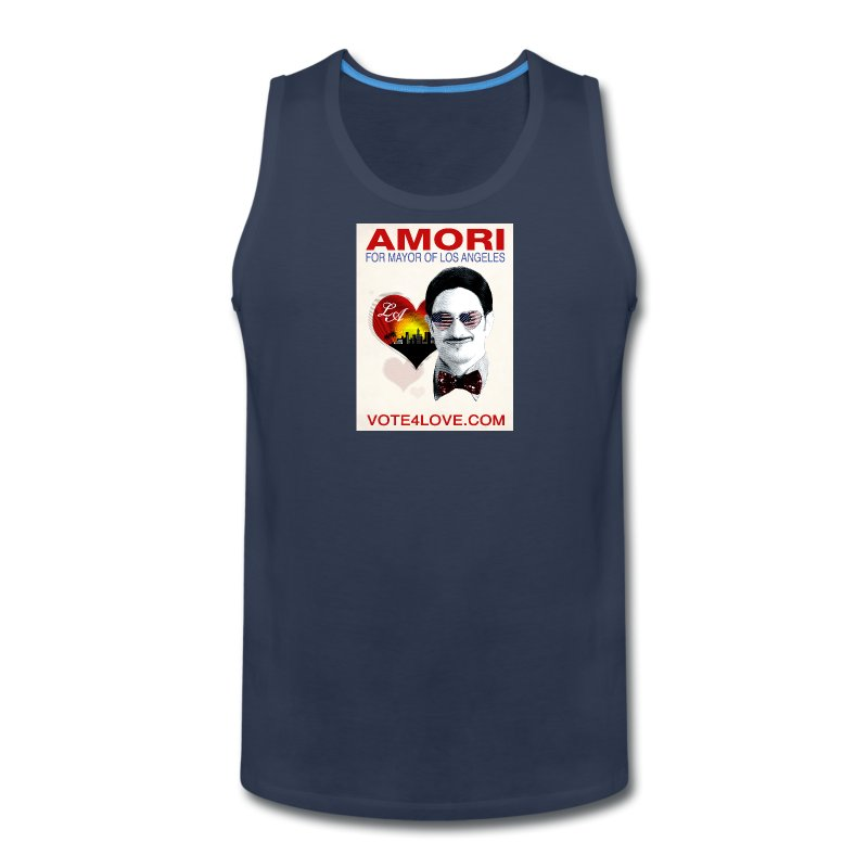 Amori for Mayor of Los Angeles eco friendly shirt - Men's Premium Tank