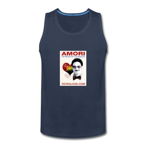 Amori for Mayor of Los Angeles eco friendly shirt - Men's Premium Tank