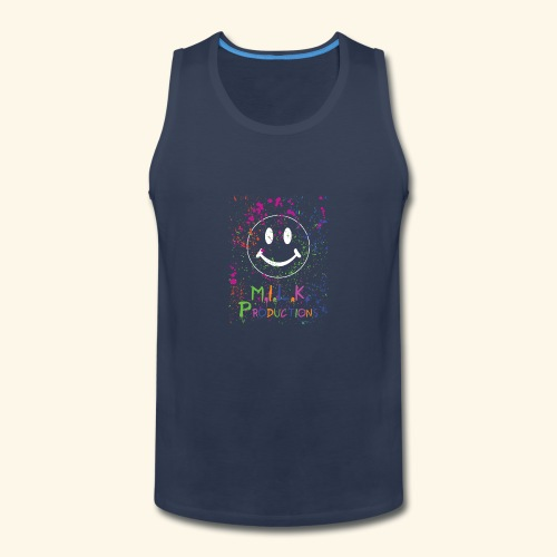 M.I.L.K. Color Splatter T-Shirt - Men's Premium Tank