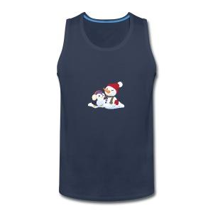 Penguin & Snowman Winter Friends - Men's Premium Tank
