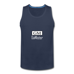 gamister_shirt_design_1_back - Men's Premium Tank