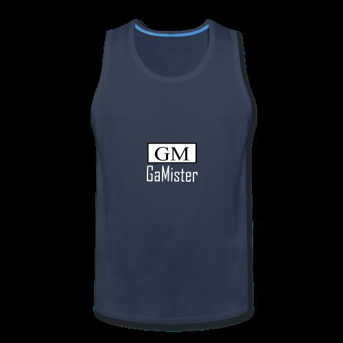 gamister_shirt_design_1_back - Men's Premium Tank