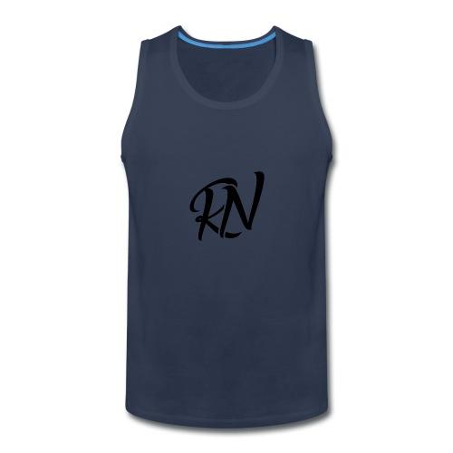 RomanNation Black (RN) - Men's Premium Tank