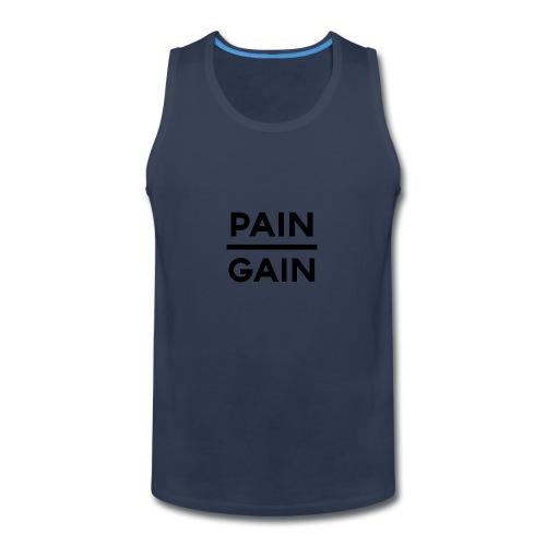 PAIN/GAIN - Men's Premium Tank