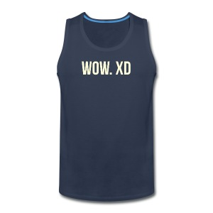 WOW. XD - Men's Premium Tank