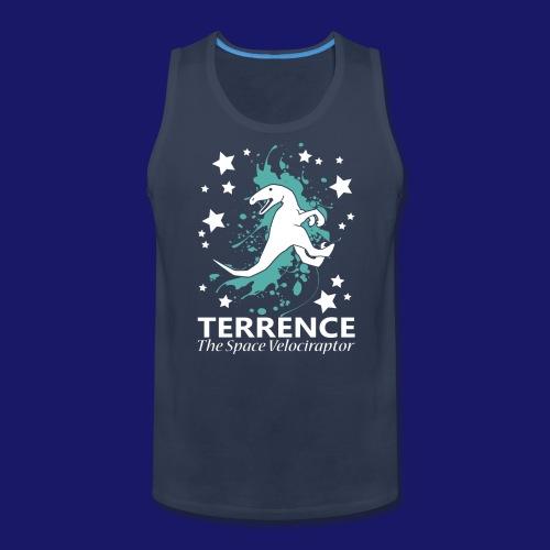 Terrence the Space Velociraptor - Men's Premium Tank