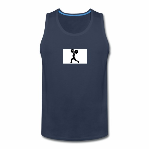 Weight lifters - Men's Premium Tank
