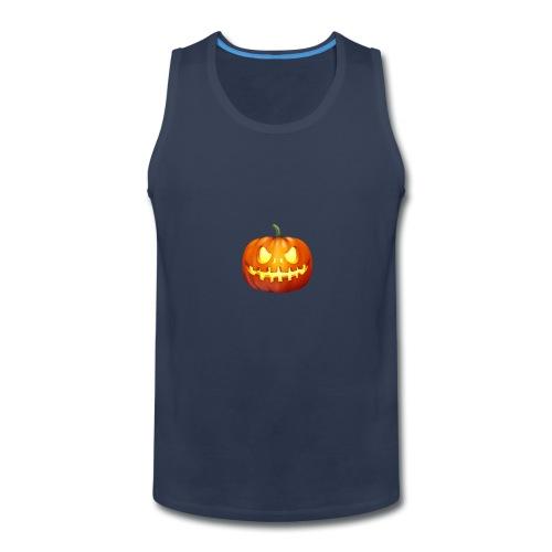 halloween-pumpkin - Men's Premium Tank