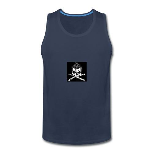 Greaser skull - Men's Premium Tank