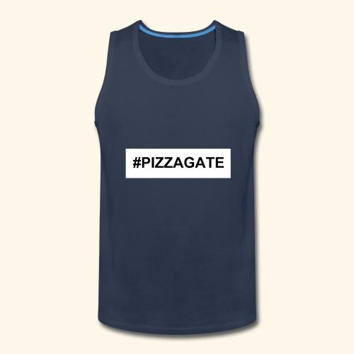 #PIZZAGATE CLASSIC BOX - Men's Premium Tank