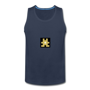YELLOW hashtag - Men's Premium Tank